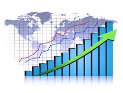 Festgeld Vergleich: Finanzkurve steil nach oben