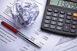 Tagesgeld Vergleich - Taschenrechner, Stift und Zettel wird benötigt